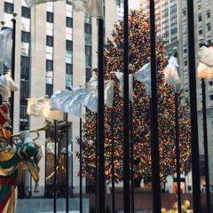冬の風物詩④ Rockefeller Centerのクリスマスツリー
